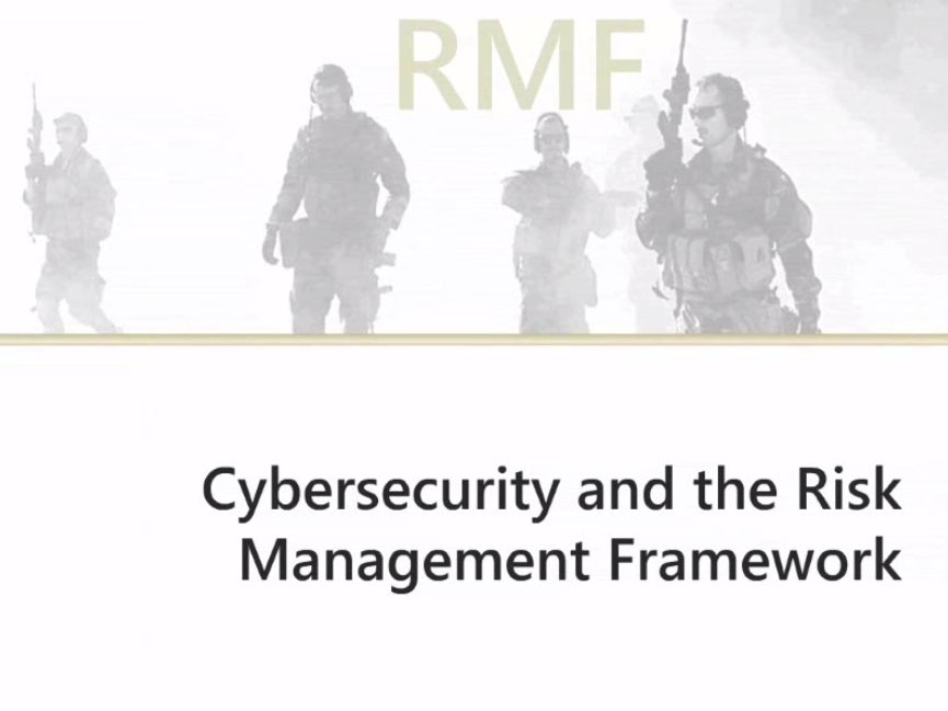 Cybersecurity and RMF