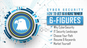 Cyber Security How to make up to 6 Figures